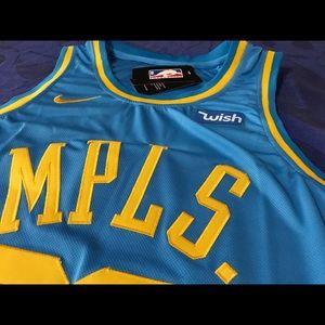 cb0fd8dda3c Nike Other - New  23 LEBRON MPLS Lakers jersey. LRG